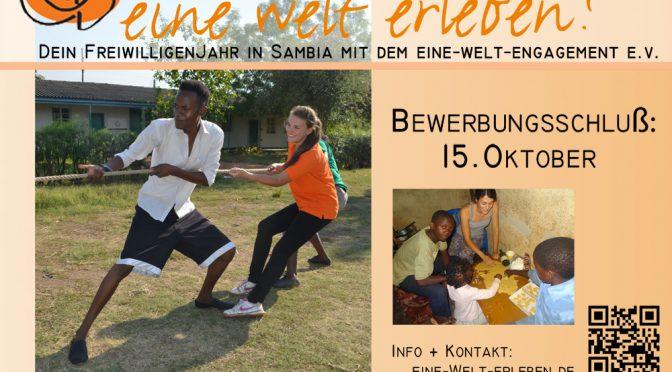 (Deutsch) Dein Freiwilligenjahr in Sambia